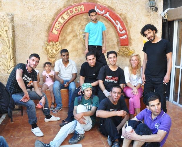 Zakaria Zubeidi del Freedom Theatre