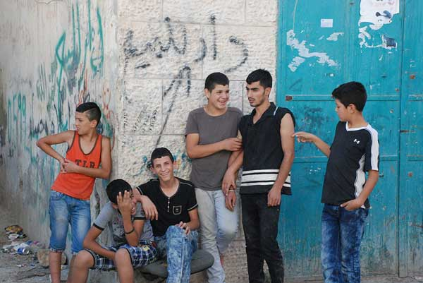Palestinian youngsters from Alrowwad Cultural and Arts Society appearing on the Edinburgh Fringe in August