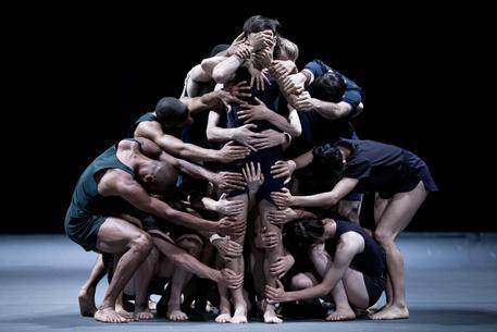 Batsheva Dance Company show in Jerusalem