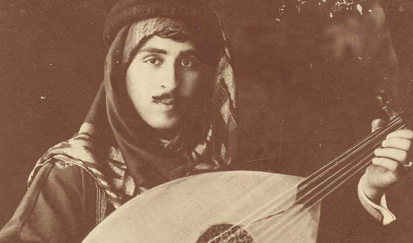 Palestinian musician Wasif Jawhariyyeh, born in Ottoman Jerusalem in 1897, died in exile in Beirut in 1972. (Photo from the memoir 'The Storyteller of Jerusalem: The Life and Times of Wasif Jawhariyyeh, 1904-1948' eds. Salim Tamari and Issam Nassa.)